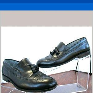 Givenchy, Italian mens toe cap shoes, Black,US 7.5